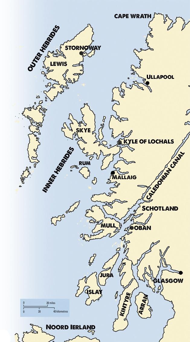 vaargebied Schotland