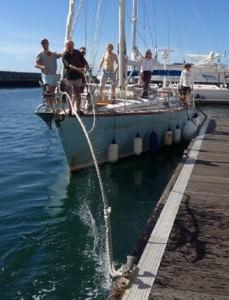 Zeezeiltraining afmeren