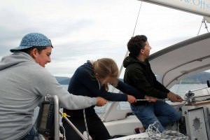 zeezeiltraining zeilen hijzen