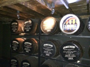 Jameson whiskey Ierland