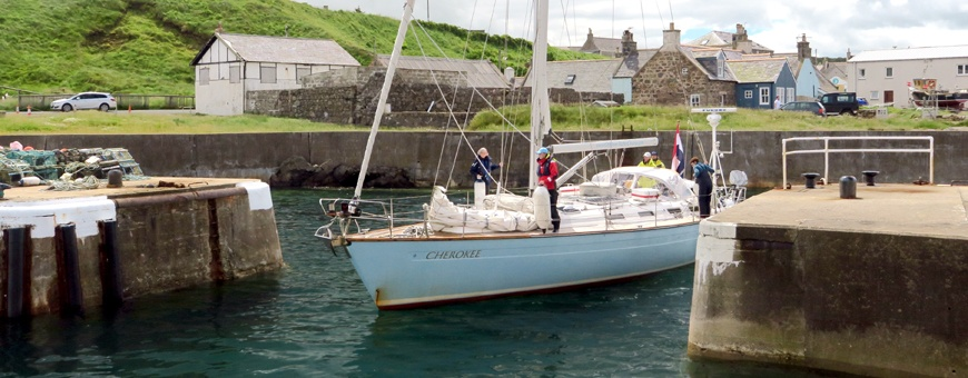 Sailing holidays Whitehills