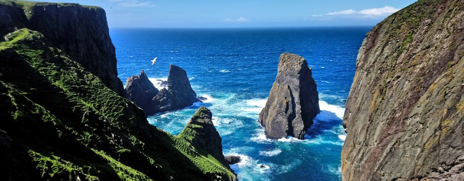 Fair Isle Shetland eilanden