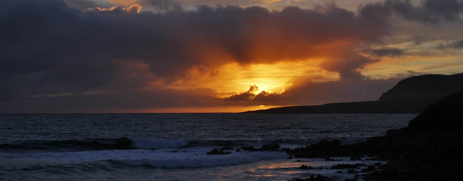 umburgh head Shetland isles