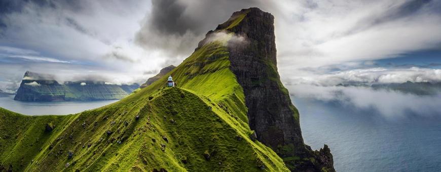 meezeilen op de Faeröer eilanden