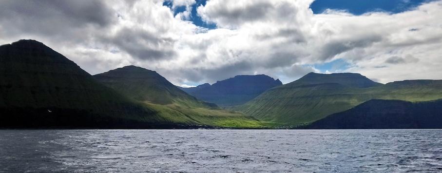 sailing Faroe islands