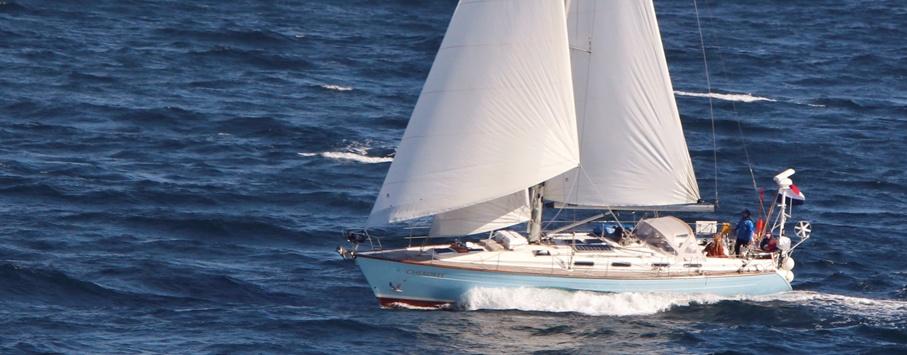 sailing yacht Cherokee